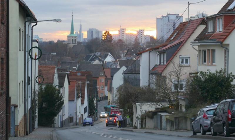 Dorfkern und Atzelberg zur Jahreswende 2020/2021